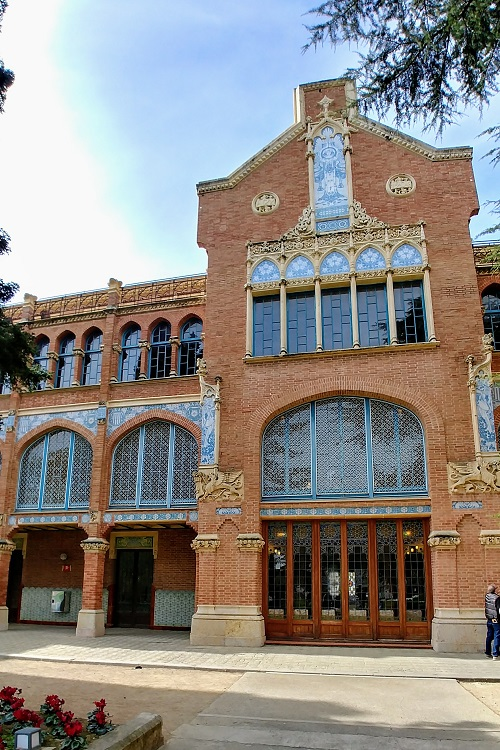 Institut Pere Mata fachada