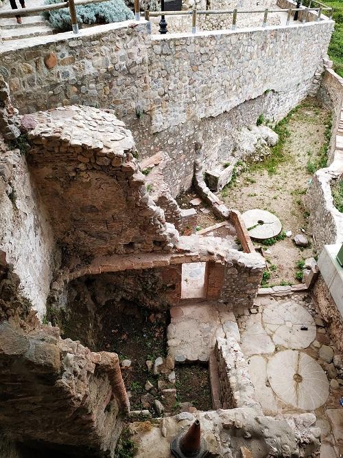 Restos del antiguo molino