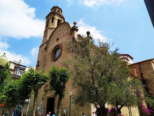 Fachada de la Iglesia de Santa María y san Nicolás