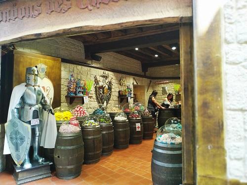 Tienda de chuches en Carcassonne