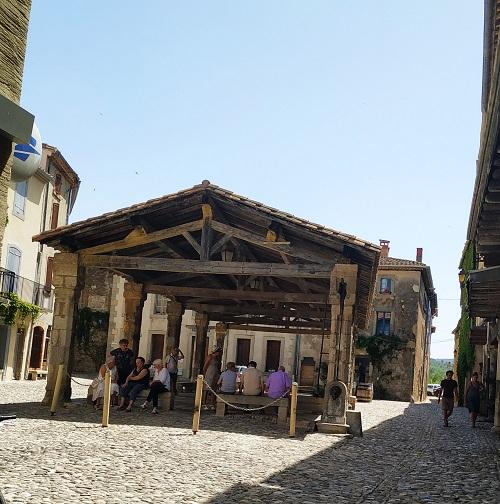 Merecado medieval de Lagrasse