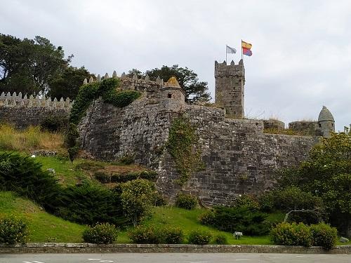 Vista de la fortaleza de Baiona
