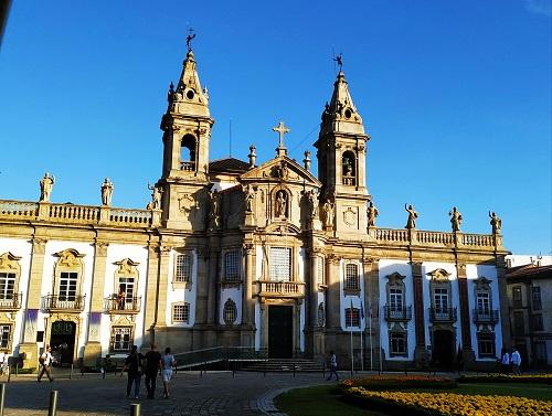 Fachada del Hospital de San Marcos, Braga