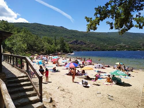 Playa Viquella, Sanabria