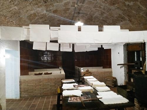 Interior del Museu Molí Paperer de Capellades