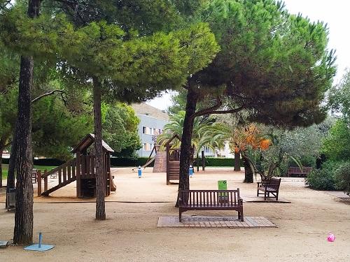 Zona infantil, laberint d'Horta
