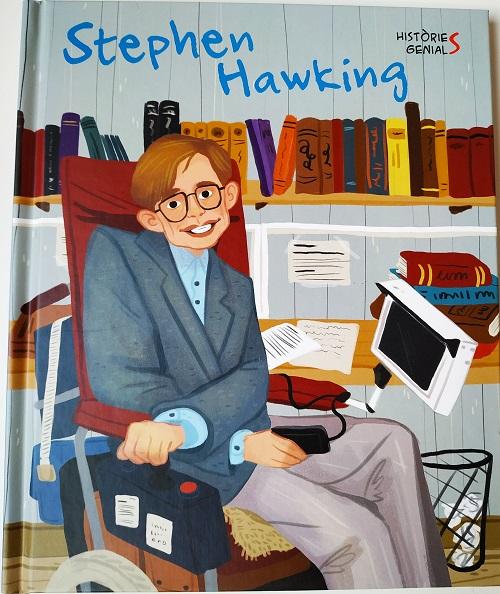 Portada Stephen Hawking. Vide genials