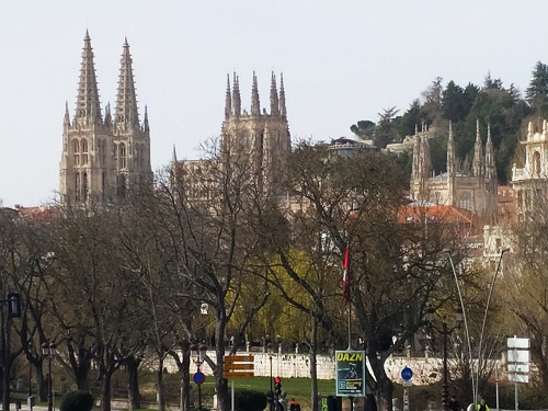 Vistas, catedral Burgos