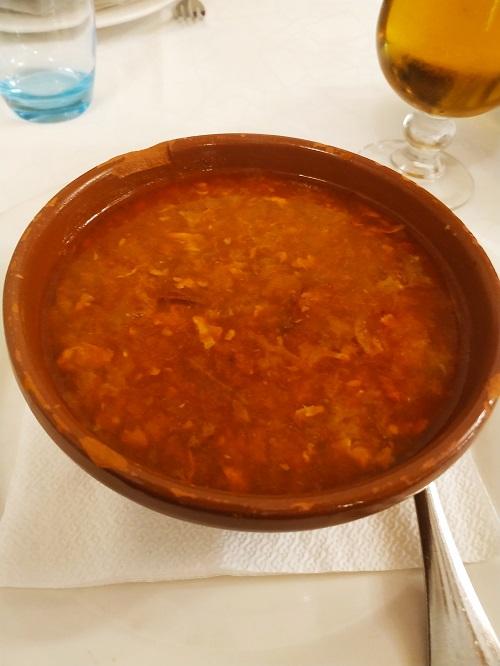 Sopa Castellana. Dónde comer en Burgos
