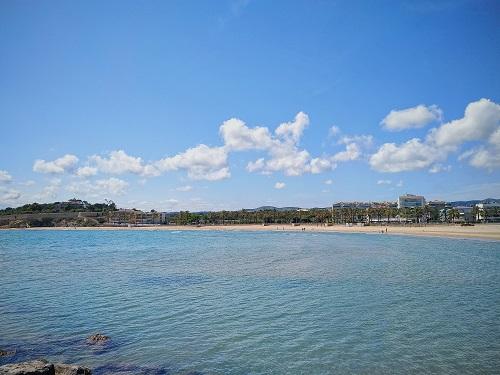Playa en Vilanova i la Geltrú