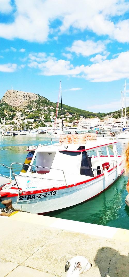 El Fadrí, barco en Islas Medas