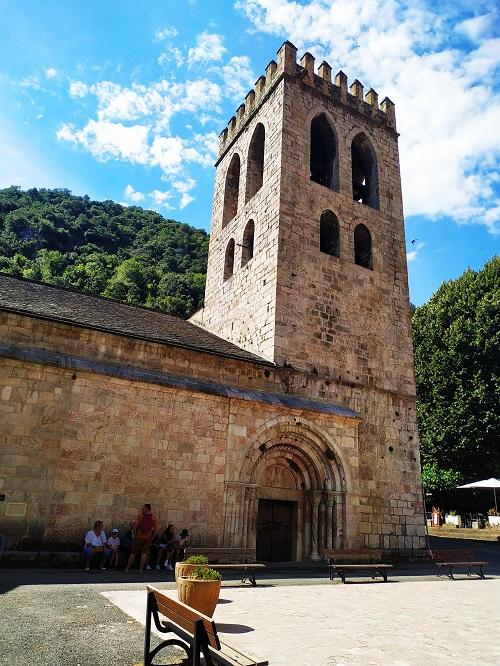 Iglesia Románica, Sur de Francia, alrededores del Canigou