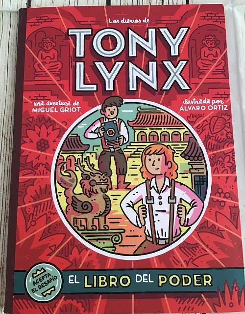 Portada Los diarios de Tony Lynx