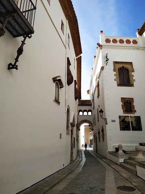 Calles centricas de Sitges
