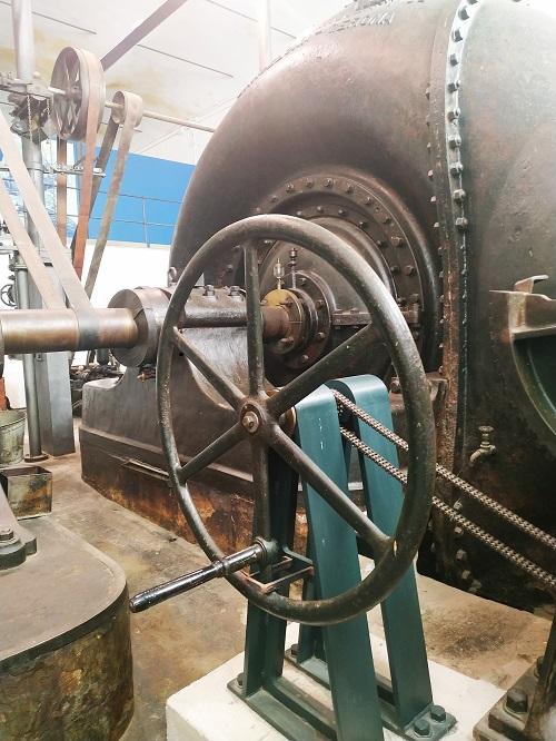 Turbina hidráulica, colonia Sedó