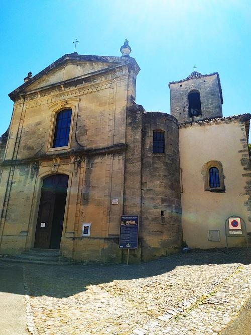 Fachada de la Iglesia de la Asuncion, Vaison la Romaine