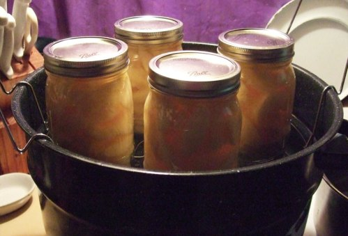 peaches-canning
