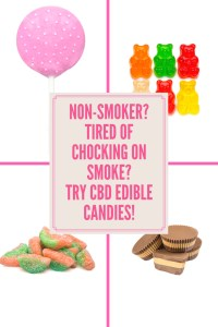Not a Smoker? Need CBD? There are many CBD edible treats you can try. Gummy bears, cake pops, peanut butter cups and many more. The best part you don't have to smoke it. https://mischyf.com/cbd-products-medical-marijuana/