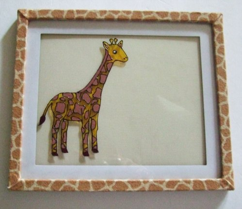 Giraffe Birth Announcement