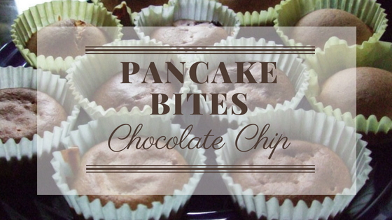 Chocolate Chip Pancake Bites