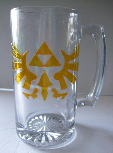 The Legend of Zelda - Tri force Stein Mug, Eagle Hyrule Crest