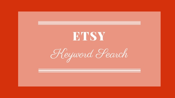 Etsy Keyword Search
