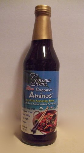 Coconut Aminos can be used as a replacement for Soy Sauce with less sodium. Diabetic and Heart Friendly. https://mischyf.com/coconut-aminos/