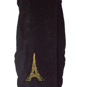 Eiffel Tower towel wrap