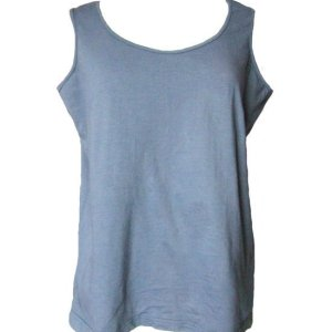 Tank Top Grey Jersey Knit