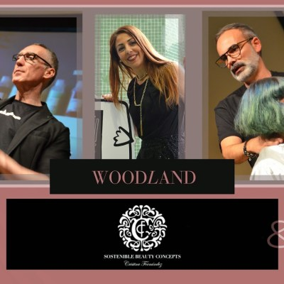 SBC · Davines ·  Essential Haircare & Woodland Collection