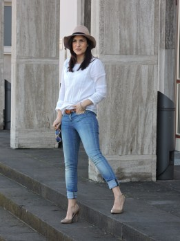 camisa blanca hm 018