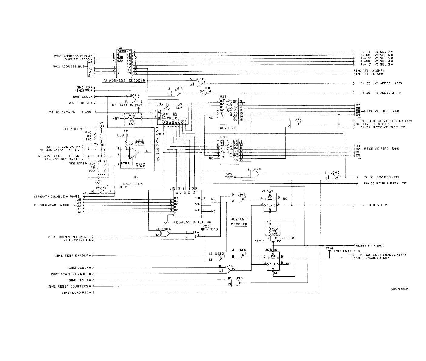 Fo 10 Rc Bus Interface Cpu Cca A7 Schematic