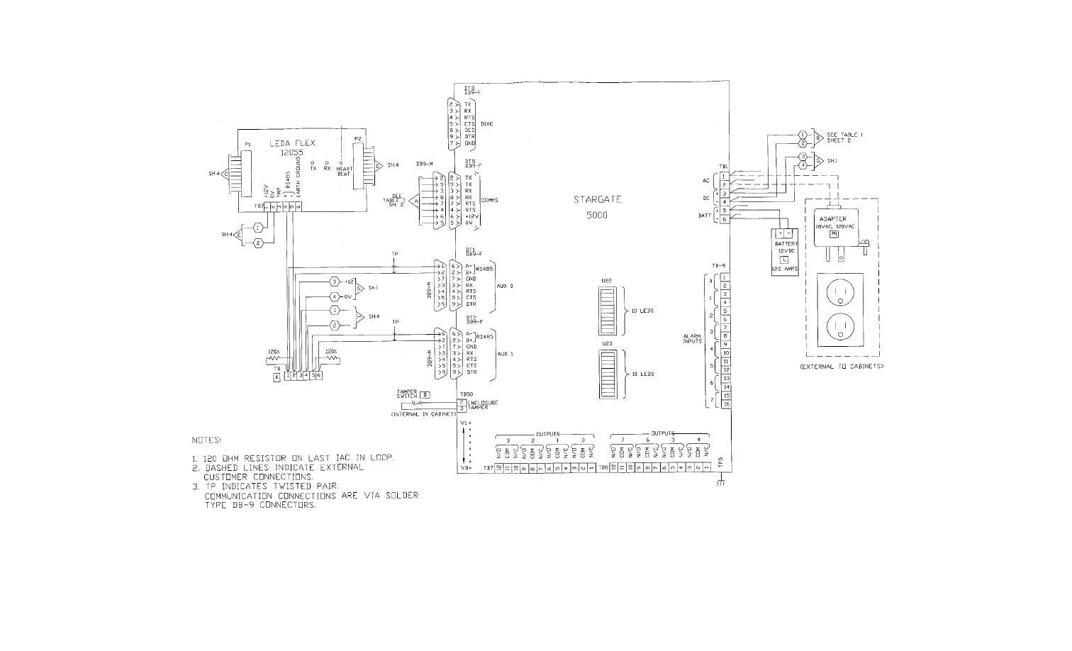 Fo 4 Interior Radc 12 Vdc Functional Wiring Block