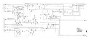 Figure 16 Electronic control unit schematic diagram