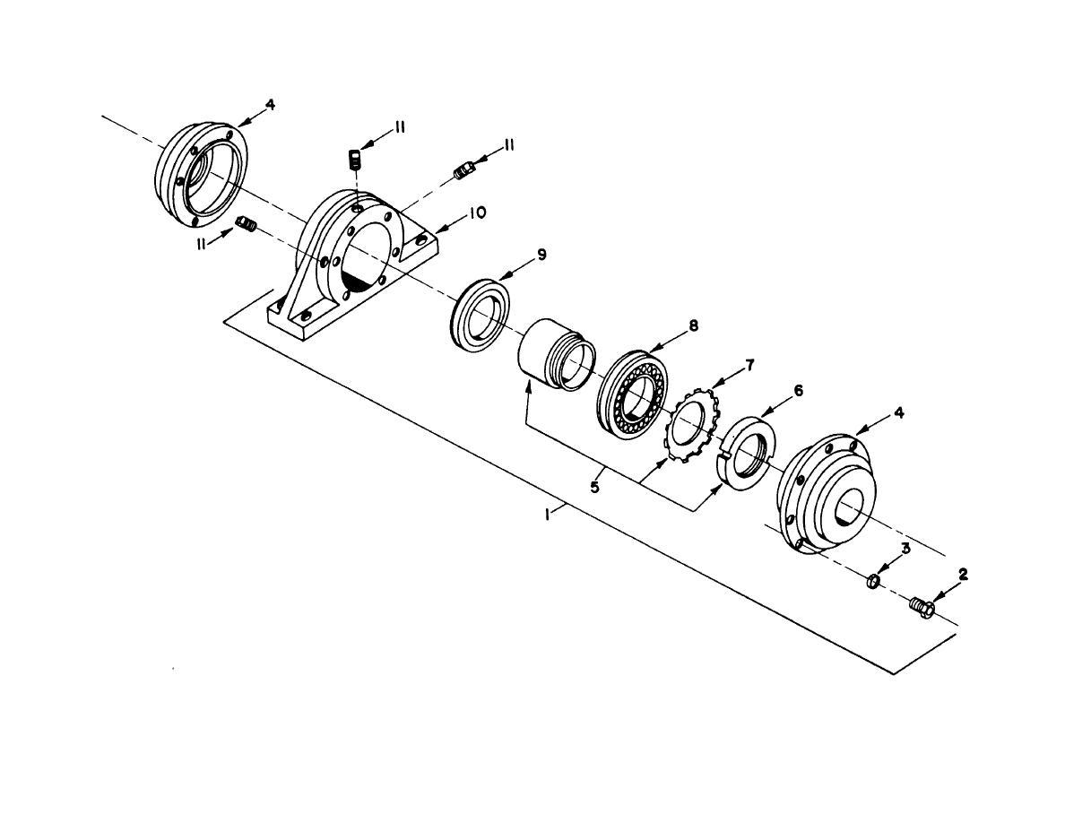 Figure 101 Pillow Block Winch Auxiliary Hoist