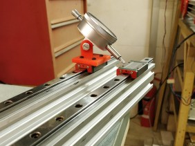 MGN12 Linear Rail Guide #29 / Dial Gauge Jig / Improving Movement / Butting Rails