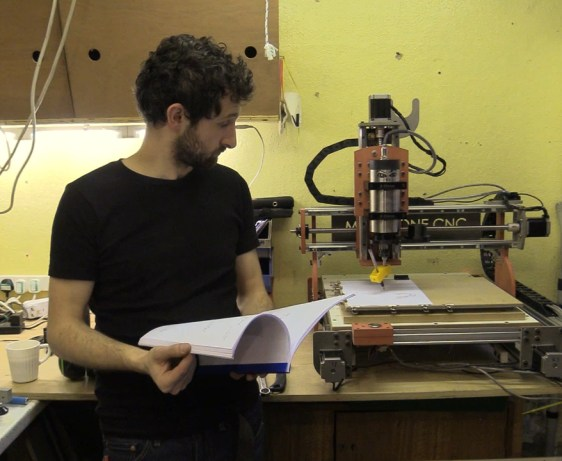 CNC Machine Draws Itself - Plans Now Available To Buy