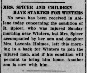Abilene Reporter Feb 2 1909