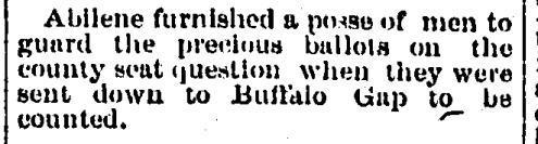 Fort Worth Gazette November 10 1883