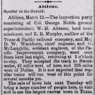 Dallas Herald March 17 1881