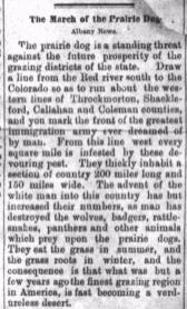 Stephenville Empire August 2 1884