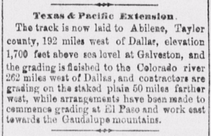 Dallas Herald January 16 1881