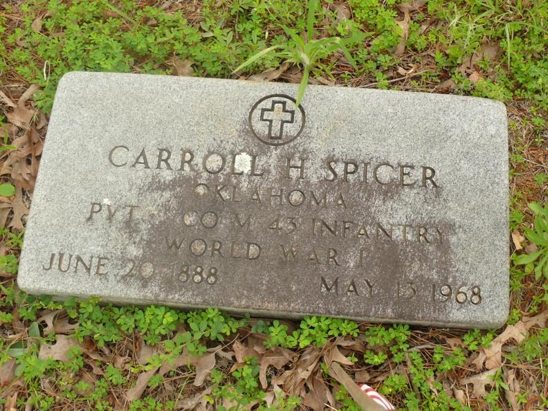 CarrollSpicer Grave