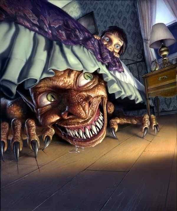 debajo de tu cama- cuento de terror
