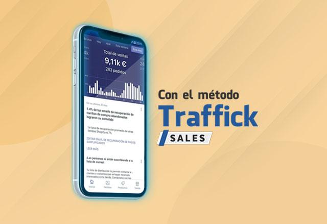 Traffick Sales de Adrián Saenz