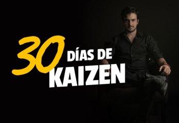 Reto 30 Días de Kaizen de Gustavo Vallejo