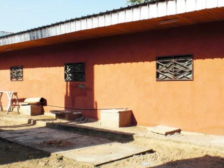 Construction de l'hôpital de Rey Bouba.