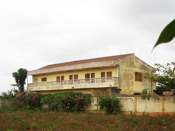 Le noviciat à Lomé.
