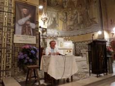 Sr Reine-Claude Bénard retrace l'histoire de la Congrégation des Sœurs de la Miséricorde et, en particulier, de la communauté de Domfront.
