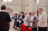 Les Sœurs prononcent les vœux
